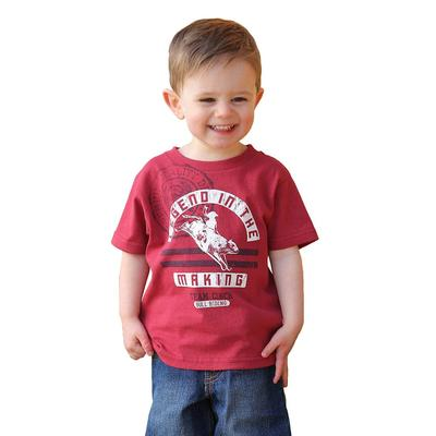 Cinch Boy's Toddler Classic Red Logo T-Shirt