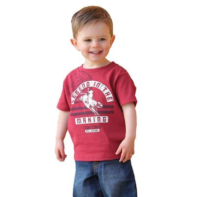 Cinch Boy's Infant Classic Red Logo T-Shirt