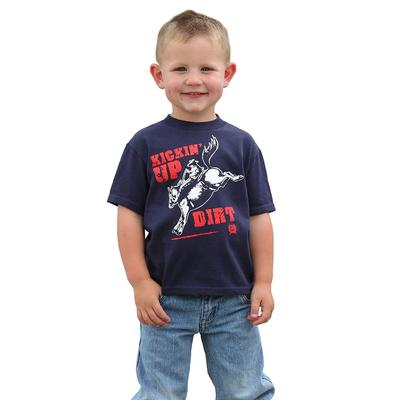 Cinch Boy's Infant Classic Patriot Blue T-Shirt