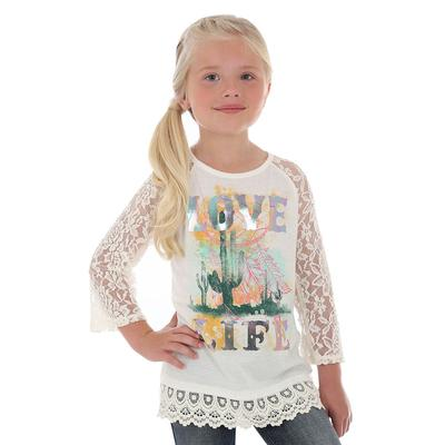 Wrangler Girl's Love Life Top