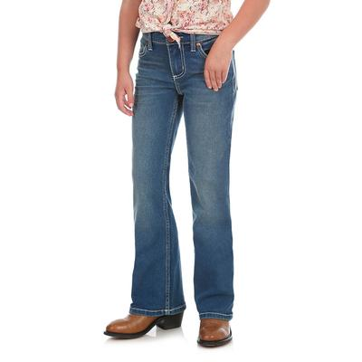 Wrangler Girl's Irvine Blue Everyday Jeans