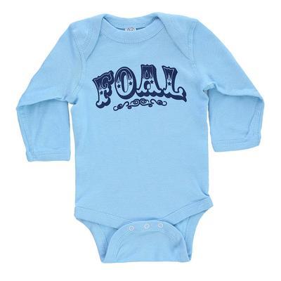 Wrangler Boy's Infant Blue Foal Onesie