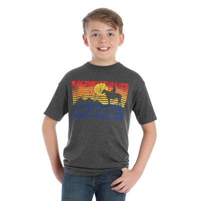 Wrangler Boy's Cowboy Sunset Graphic T-Shirt