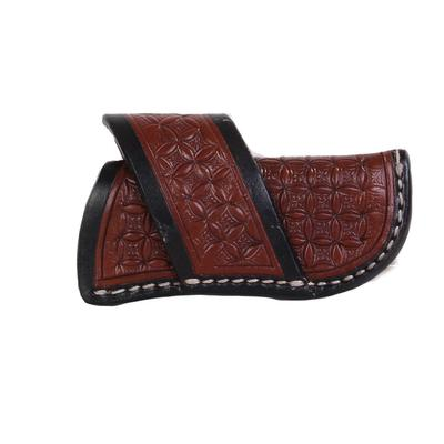 Leather Tool With Black Trim Sheath