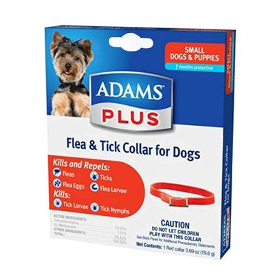 Adams Plus Flea And Tick Collar For Small Dogs And Puppies