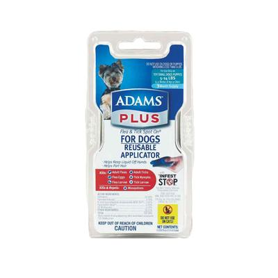 Adams Plus Flea And Tick Spot On For Dogs And Puppies 5- 14lbs