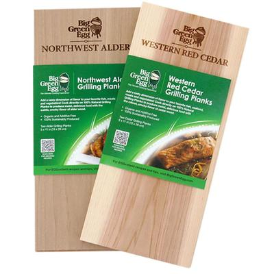 Big Green Egg Extra Thick Cedar Grilling Planks
