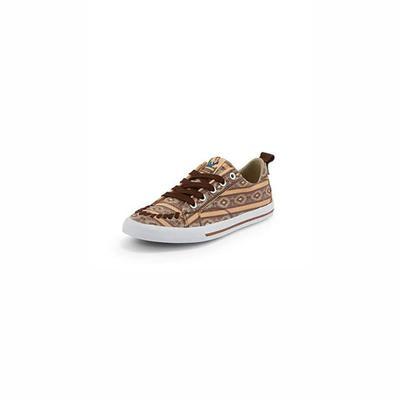 Reba By Justin Women's Arreba Southwest Cross Lace Up Shoes