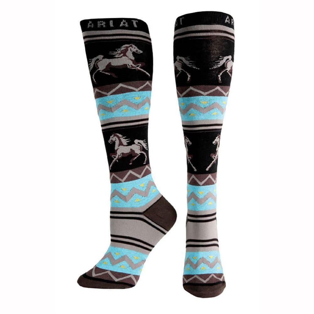 b69ff7e10d5 Ariat Womens Apache Knee High Socks