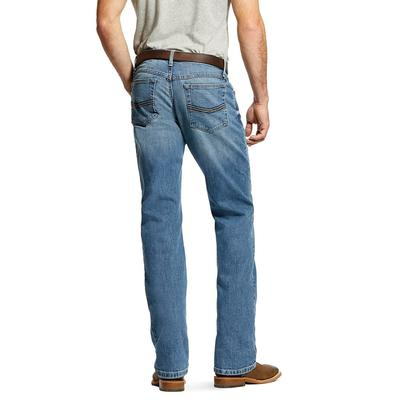 Ariat Men's M4 Low Rise Stretch Legacy Stackable Straight Leg Jean