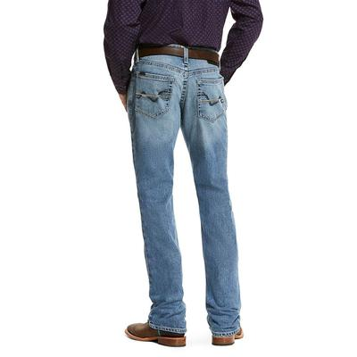 Ariat Men's M4 Low Rise Stretch Coleman Boot Cut Jean