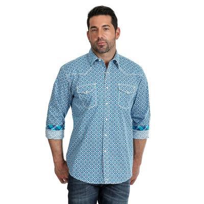 Wrangler Men's Long Sleeve 20X Snap Shirt