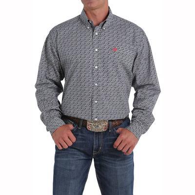 Cinch Men's Long Sleeve Tencel Button Down Shirt
