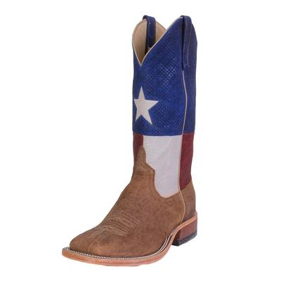 Anderson Bean Men's Western Bison Texas Flag Boot