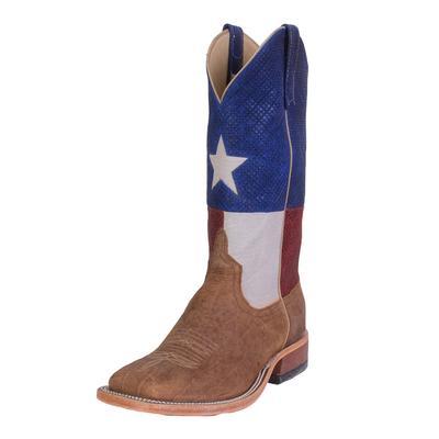 Anderson Bean Men's Western Bison Texas Flag Boot