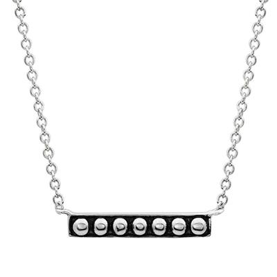 Montana Silversmith's Classic Beaded Bar Necklace