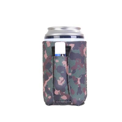 Camo Regular Can Pocket Handler Can Cooler CAMO