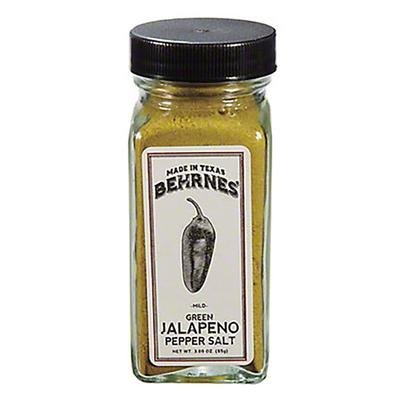 Behrnes' Green Jalapeno Pepper Salts