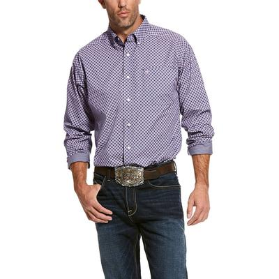 Ariat Men's Long Sleeve Wrinkle Free Valazquez Shirt