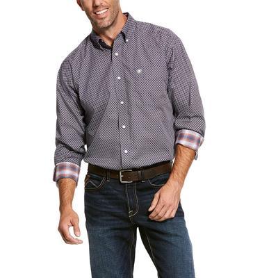 Ariat Men's Long Sleeve Wrinkle Free Valker Shirt