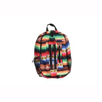 Hooey Serape and Black Rockstar Backpack