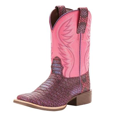 Ariat Girl's Lavender Brumby Boots