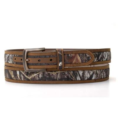 Nacona Men's M&F Western Camo Double Stitch belt