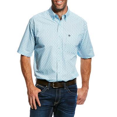 Ariat Men's Olson Print Short Sleeve Shirt