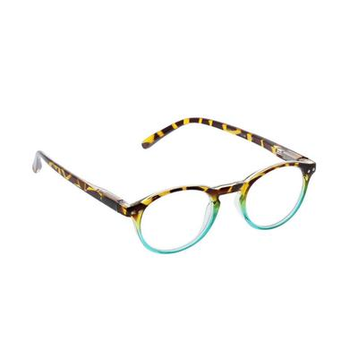 Peepers Women's Green and Tortoise Book Club Reading Glasses