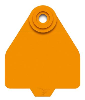 DuFlex Medium Blank Ear Tags for Cattle