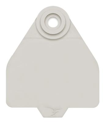 DuFlex Medium Blank Ear Tags for Cattle WH