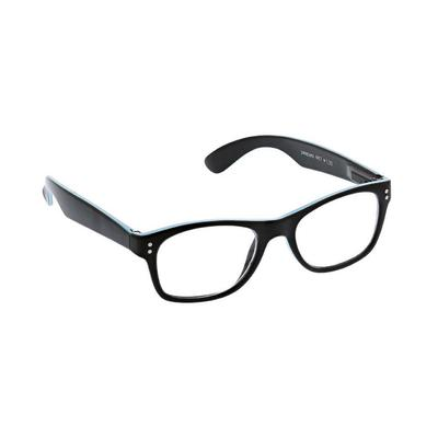 Peepers Women's Black and Blue Pipeline Reading Glasses