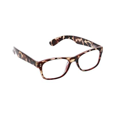 Peepers Women's Tortoise and Red Pipeline Reading Glasses