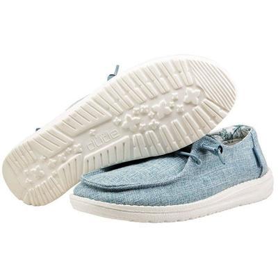 Hey Dude Women's Wendy Linen Sky Shoes