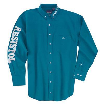 Resistol Men's Long Sleeve Western Button Down Shirt