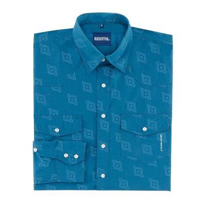 Resistol Men's Long Sleeve Franco Snap Shirt