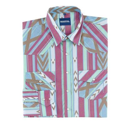 Resistol Men's Long Sleeve Jasper Snap Shirt