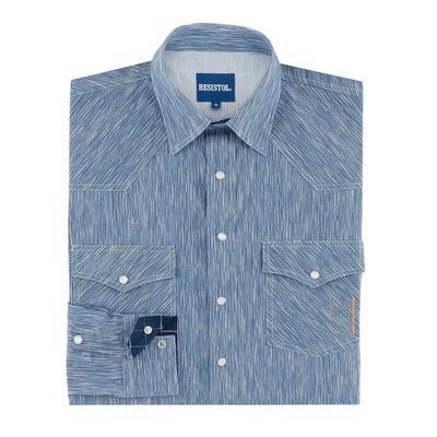 Resistol Men's Cotton Wood Snap Shirt