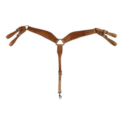 Berlin Custom Leather Heavy Roper Breast Collar