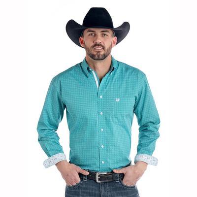 Panhandle Men's Long Sleeve Button Down Shirt