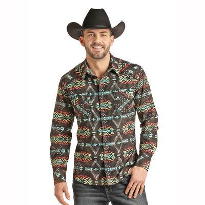 Panhandle Men's Long Sleeve Snap Shirt