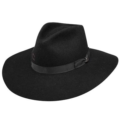 Charlie 1 Horse Women's Black Highway Felt Hat