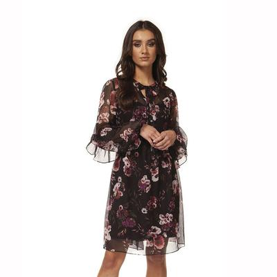 Black Tape Women's Floral Dress