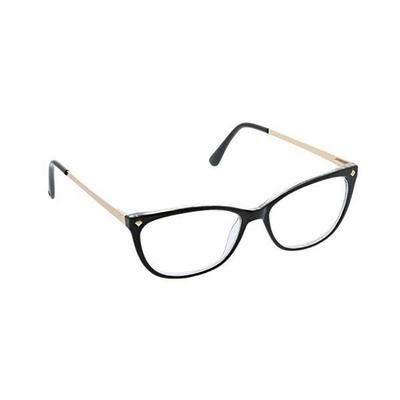 Peepers Women's Black and Gold Collins Avenue Reading Glasses