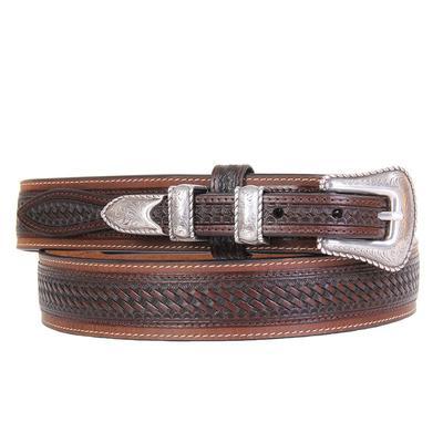 Ranger Belt Company's Men's Leather Basket Weave Ranger Belt