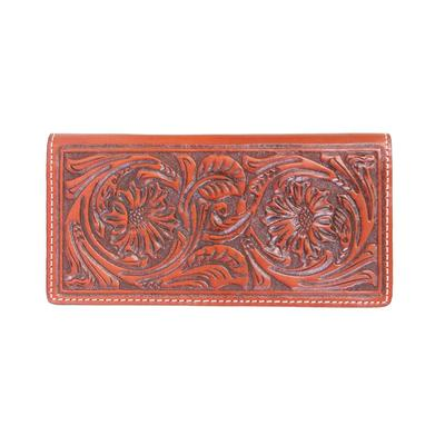 Twisted X Men's Leather Tooled Rodeo Wallet