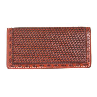 Twisted X Men's Woven Leather Rodeo Wallet