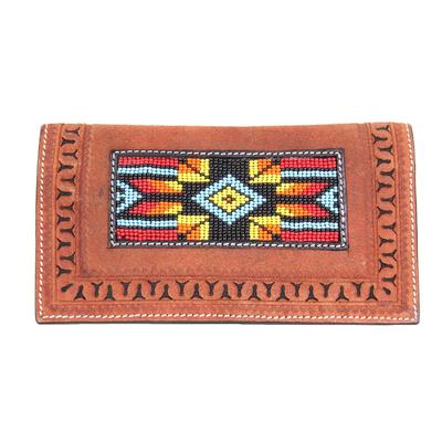 Twisted X Men's Rough Out Beaded Wallet