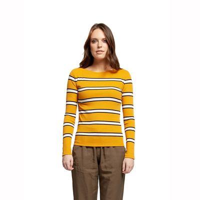Black Tape Women's Gold Striped Top