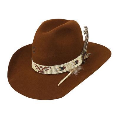 Charlie 1 Horse Women's Cognac Rain Bird Felt Hat